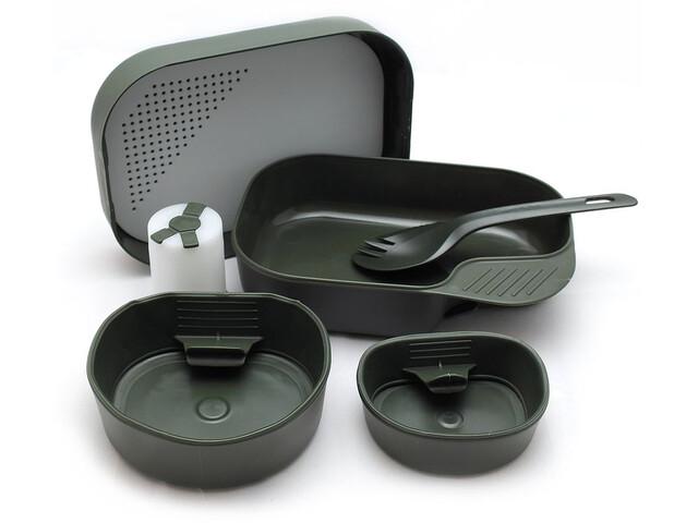 Wildo Camp-a-box Geschirrset Complete oliv